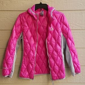 Gerry Fillpower 650 quilted down Jacket with hood.